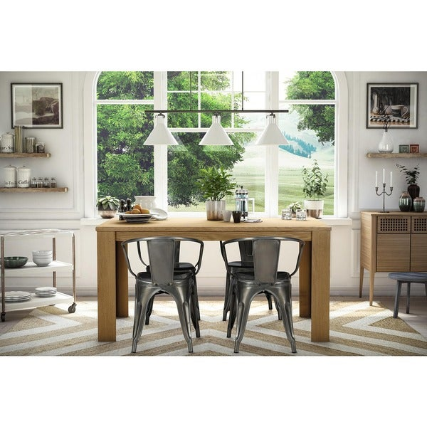 DHP Elise Metal Dining Chair Set Of  Free Shipping Today - Metal dining room chairs