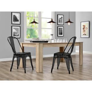 DHP Nova Metal Mesh Dining Chair, Set of 2