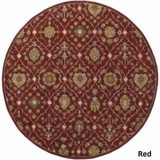 Hand-Tufted Kempston Wool Rug (3'6 Round)
