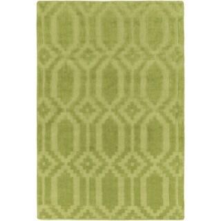 Hand-Loomed Hinckley Wool Rug - 2' x 3'