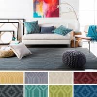 Hand-Loomed Hinckley Wool Rug (9' x 12') - 9' x 12'