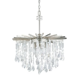 Capital Lighting Donny Osmond Carrington Collection 6-light Polished Nickel Chandelier