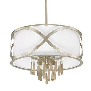 Capital Lighting Donny Osmond Berkeley Collection 4-light Winter Gold Pendant