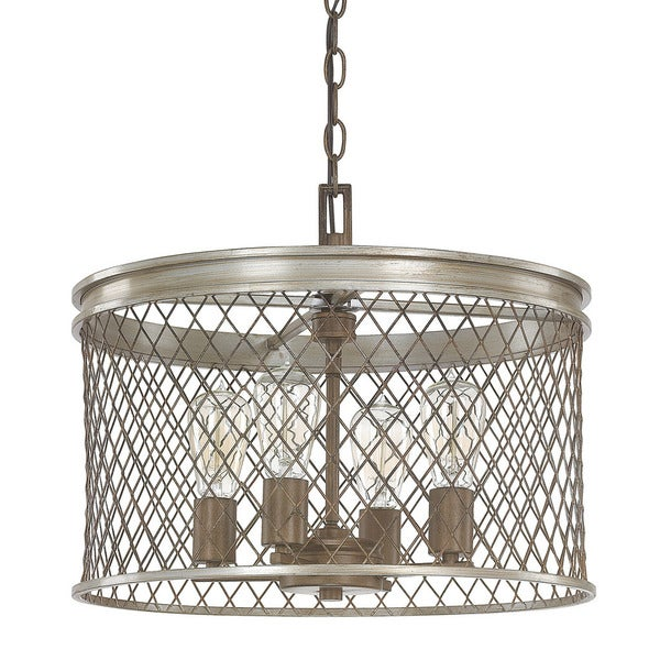 Capital Lighting Donny Osmond Eastman Collection 4 Light Silver And Bronze Pendant Free