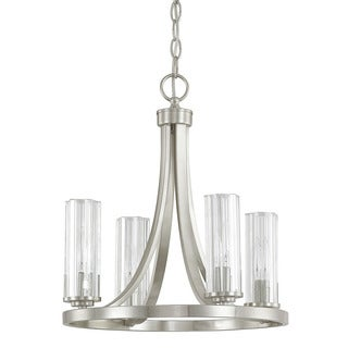 Capital Lighting Donny Osmond Emery Collection 4-light Brushed Nickel Mini Chandelier
