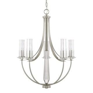 Capital Lighting Donny Osmond Emery Collection 5-light Brushed Nickel Chandelier