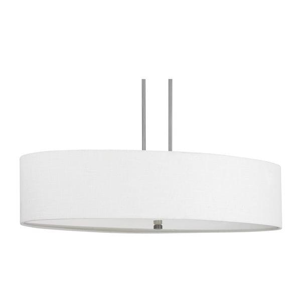 Capital lighting loft collection 6 light matte nickel island fixture