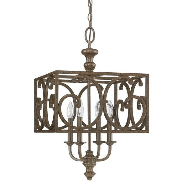 ... Brown Foyer Fixture - Free Shipping Today - Overstock.com - 17659530