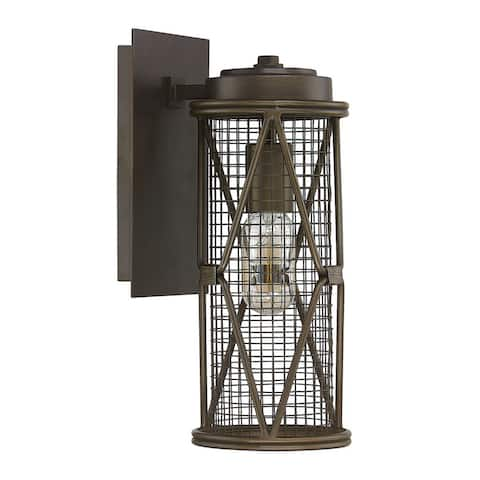 Jackson 1-light Oil Rubbed Bronze Wall Sconce