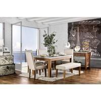 Furniture of America Aralla II Industrial 6-piece Dining Set