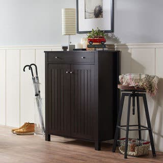 Furniture of America Mirille Mission Style 4-shelf Shoe Cabinet|https://ak1.ostkcdn.com/images/products/10584741/P17659603.jpg?impolicy=medium