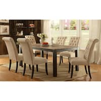 Gracewood Hollow Tabios Rustic 7-piece Two-tone Dining Set