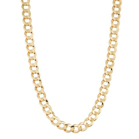 Fremada 14k Yellow Gold 4.7-mm High Polish Curb Link Necklace (18 - 30 inches)