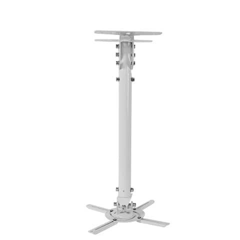 Loctek White 32-inch LCD/ DLP Projector Ceiling Mount Bracket