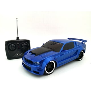 TRI Band Remote Control 1:18 Extreme Machines Ford Mustang Remote Control Car