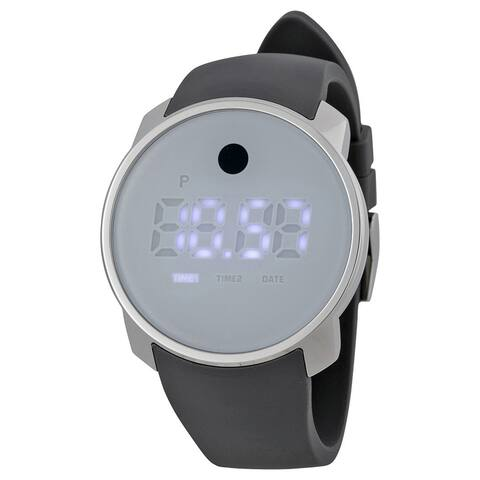 Movado Men's 3600253 'Bold' Digital Grey Silicone Watch