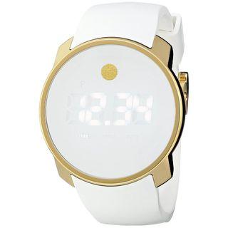 Movado Men's 3600252 'Bold' Digital White Silicone Watch