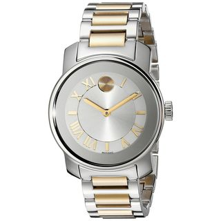 Movado Women's 3600245 'Bold' Two-Tone Stainless Steel Watch