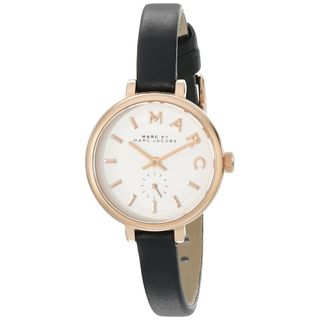 Marc Jacobs Women's MBM1352 'Sally' Black Leather Watch