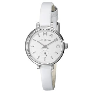 Marc Jacobs Women's MBM1350 'Sally' White Leather Watch