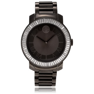 Link to Movado Women's 3600248 'Bold' Crystal Black Stainless Steel Watch Similar Items in Men's Watches