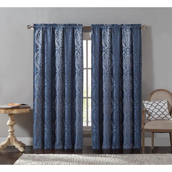 VCNY Lowell Rod Pocket Curtain Panel - 54 x 84