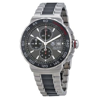 Tag Heuer Men's CAU2011.BA0873 'Formula One' Chronograph Automatic Two-Tone Ceramic Watch