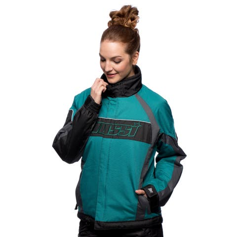 Women's Mossi Iris Green Outdoor Jacket