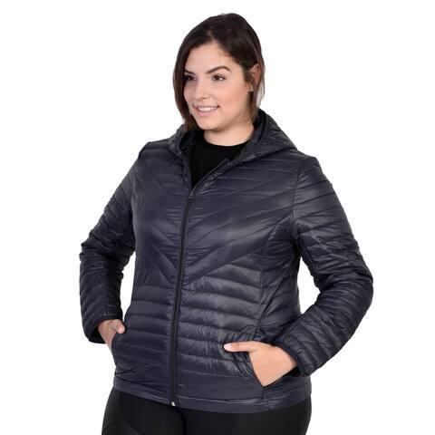 Packable Down Coat Women's Plus Size