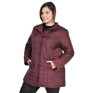 Ladies Plus Size Claudia Coat