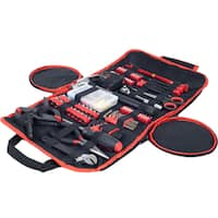 Household Hand Tools, 86 Piece Tool Set With Roll-Up Bag by Stalwart