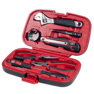 Household H& Tools, Tool Set - 9 Piece by Stalwart, Set Includes Adjustable Wrench, Screwdriver, P