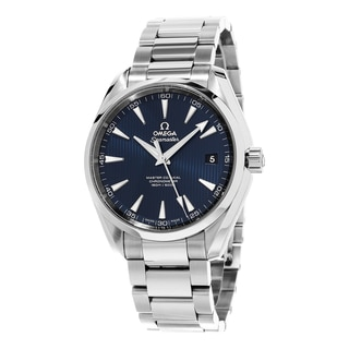 Omega Men's 231.10.42.21.03.003 'Seamaster 300' Blue Dial Stainless Steel Bracelet Swiss Automatic W