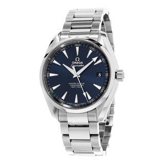 Omega Men's 231.10.42.21.03.003 'Seamaster 300' Blue Dial Stainless Steel Bracelet Swiss Automatic W|https://ak1.ostkcdn.com/images/products/10585093/P17659921.jpg?impolicy=medium