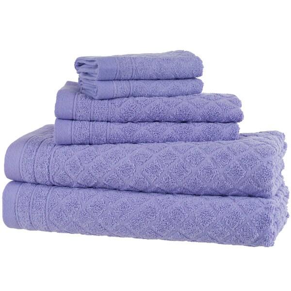 Windsor Home 18-Piece Towel Set - Purple