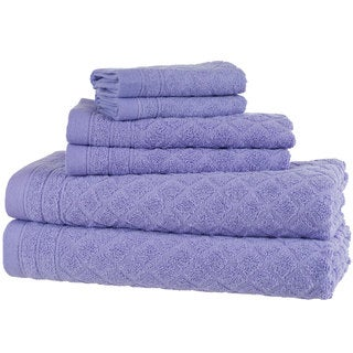 Windsor Home 6-Piece Towel Set - Purple