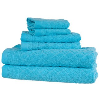Windsor Home 6-Piece Towel Set - Blue