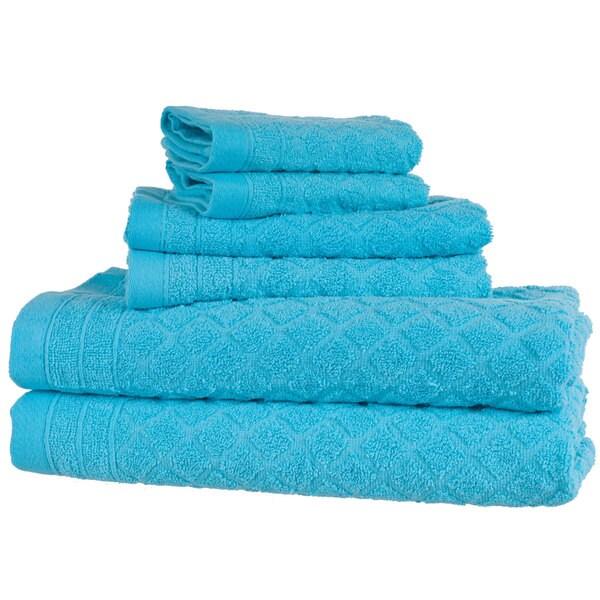 Windsor Home 6-Piece Towel Set - Blue