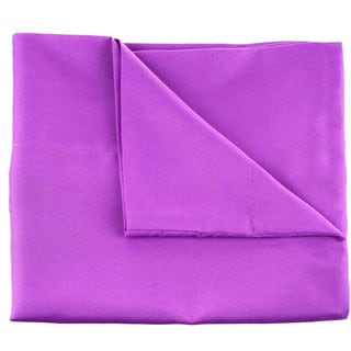 Winsor Home Cotton Blend 1200 Thread Count Purple Sheet Set (Twin)