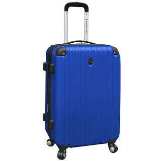 Traveler's Club Chicago 24-inch Hardside Expandable Spinner Suitcase