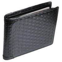Castello Leather Mid-Flip Bill-Fold Wallet With RFID