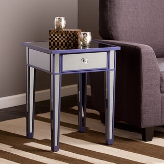 Harper Blvd Sutcliffe Purple Color Mirror Accent Table