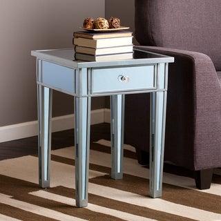 Harper Blvd Sutcliffe Blue Colored Mirror Accent Table