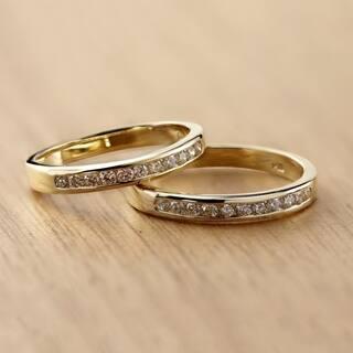 Auriya Channel Set Diamond Wedding Band 1/4ct TDW 14k Gold