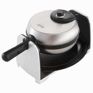 Oster CKSTWFBF21-NP 1.5-inch Thick Belgian Flip Waffle Maker