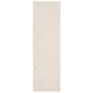 Rug Squared Montrose Ivory Runner Rug (2'2 x 7')