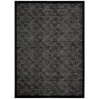Rug Squared Montrose Ivory Black Rug (5'3 x 7'3) - 5'3 X 7'3