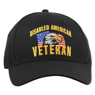 US Disabled American Veteran Hat