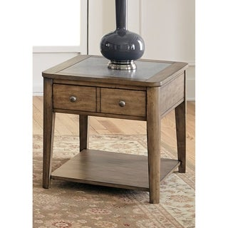 Weatherford Weathered Grey End Table