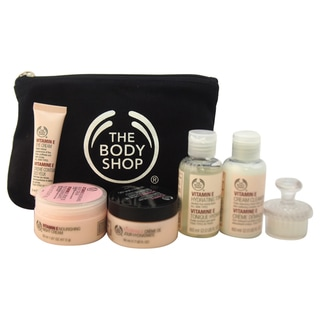 The Body Shop Vitamin E Collection Travel Exclusive 7-piece Kit